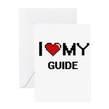 I love my Guide Greeting Cards