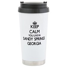 Keep calm you live in S Travel Mug