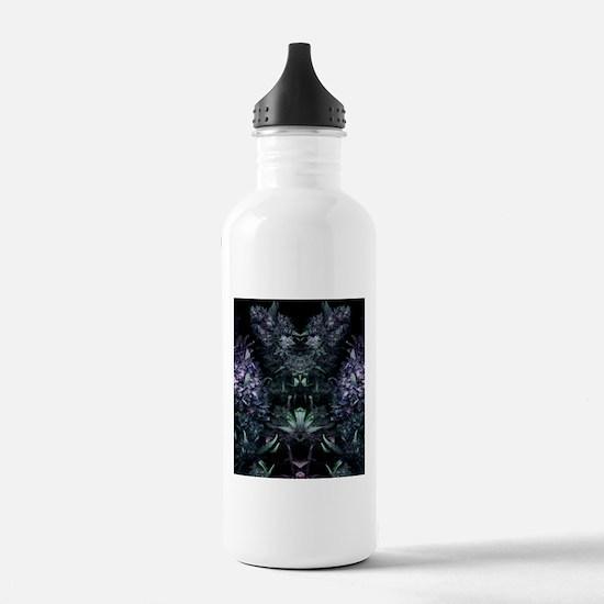Classy Cannabis Art Sports Water Bottle