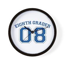 Eight Grader 08 Wall Clock