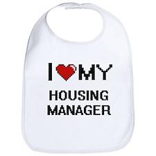 I love my Housing Manager Bib