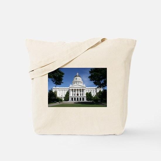 Capitol in Sacramento Tote Bag
