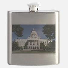Capitol in Sacramento Flask