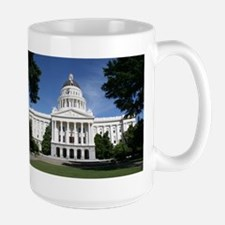 Capitol in Sacramento Mugs