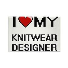 I love my Knitwear Designer Magnets