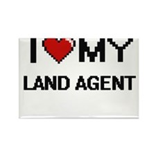 I love my Land Agent Magnets