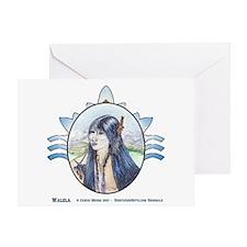 Walela Hummingbird Greeting Card
