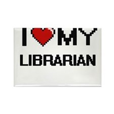 I love my Librarian Magnets