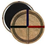 Cherokee Medicine Wheel Magnet