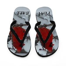 Play Ball Flip Flops