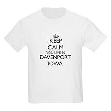 Keep calm you live in D Women's Cap Sleeve T-Shirt