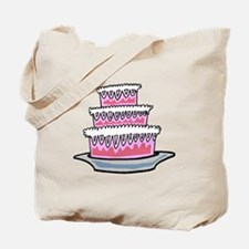 Three Layer Cake Tote Bag