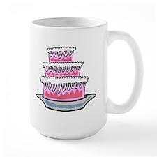 Three Layer Cake Mugs