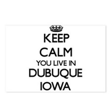 Keep calm you live in Dub Postcards (Package of 8)