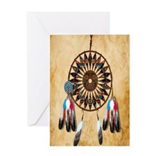 Indian Dreamcatcher Greeting Card