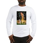 Fairies & Corgi Long Sleeve T-Shirt