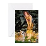 Fairies & Corgi Greeting Cards (Pk of 20)