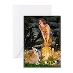 Fairies & Corgi Greeting Cards (Pk of 10)