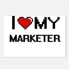 I love my Marketer Postcards (Package of 8)