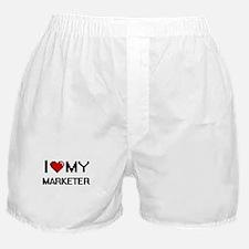 I love my Marketer Boxer Shorts