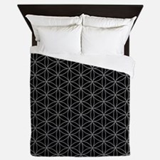 Flower of Life Ptn GB Queen Duvet