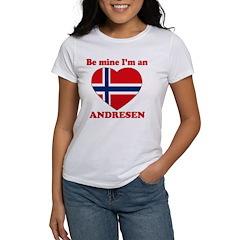 Andresen, Valentine's Day Women's T-Shirt