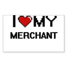 I love my Merchant Decal