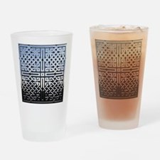 Chrome Celtic Knot Drinking Glass