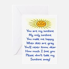 YOU ARE MY SUNSHINE Greeting Cards (Pk of 20)