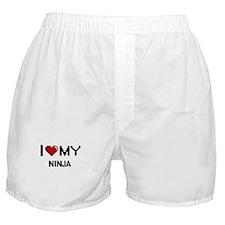 I love my Ninja Boxer Shorts