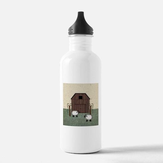 Barn Sheep Water Bottle