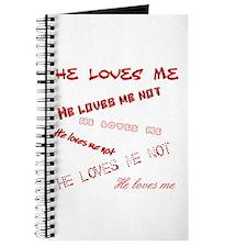 He loves me Journal