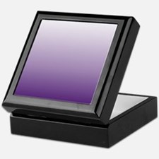 modern purple ombre Keepsake Box