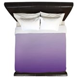 Purple Luxe King Duvet Cover