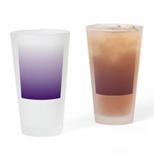 modern purple ombre Drinking Glass