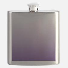 modern purple ombre Flask