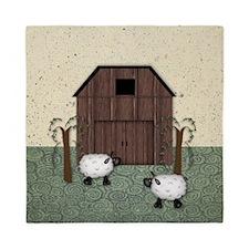 Barn Sheep Queen Duvet