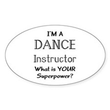 dance instructor Decal