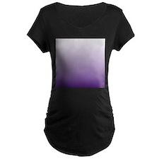 modern purple ombre Maternity T-Shirt