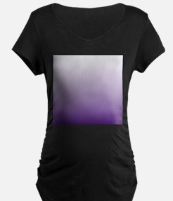 modern purple ombre Maternity T-Shirt