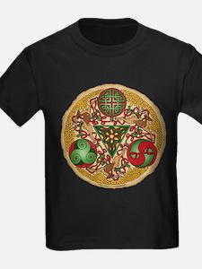 Celtic Reindeer Shield T