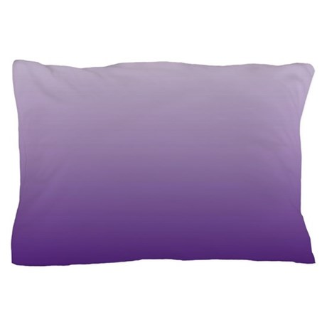 modern purple ombre Pillow Case by ADMIN_CP62325139