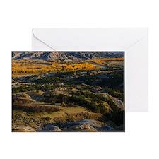North Dakota Landscape Greeting Card