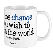 Cute Change the world Mug