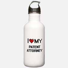 I love my Patent Attor Water Bottle