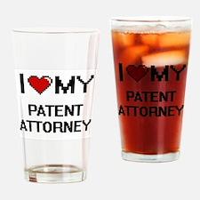 I love my Patent Attorney Drinking Glass