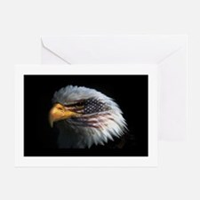 American Flag Eagle Greeting Card