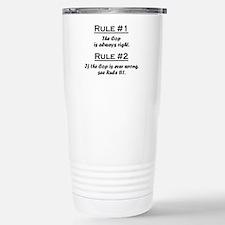 Unique Rule Travel Mug