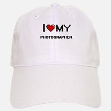 I love my Photographer Baseball Baseball Cap