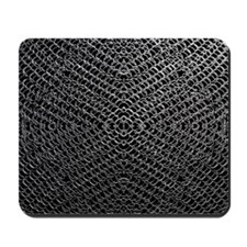 Silver Chainmaille Mousepad